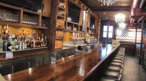 The Elevated First Floor Bar to the Left