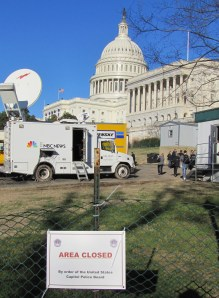 West Front of US Capitol, January 20, 2013, circa 3:00pm