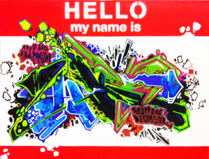 Hello my name is by HKS 181