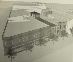 Ariel View of Frager's Proposed 11th Street Infill