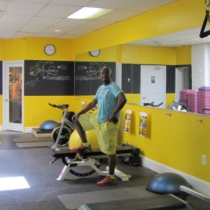 Capitol Hill Fitness is the Brainchild of Breelaun Marchai, pictured above