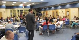 Mayor Gray at Miner Elementary School on June 13, 2013