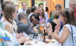 Capitol Hill Residents Turn Out to Support Frager's at Tabula Rasa Fundraiser