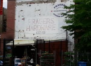 Fragers' Hardware.  Established 1920