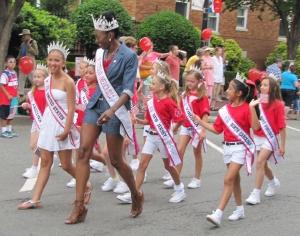 Contingent of Junior Misses America