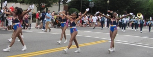 Eastern High School Band Majorettes