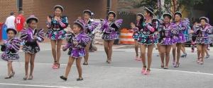 Part of the Latin Dancing Contingent - Sambos