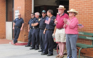 Barracks Row Fire Fighters and Friends