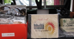 """Another Level - The Village is Talkin"" features the drumming of Frank Lloyd.  $15 at Franks Place"