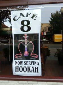 Hookas on the Menu at Cafe 8