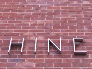Hine Sign