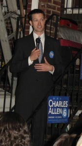 Charles Allen Announces Candidacy for City Council, October 15, 2013