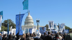 Anti-Spying Rally, in front of the U.S. Capitol, October 26