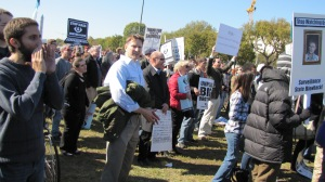 Crowd Shot, Anti-Spying Rally, October 26