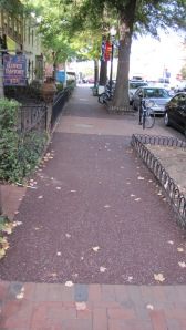 Mayor Gray was so pleased about the installation of new Flexi-Pave Sidewalk Material on 7th Street near Eastern Market, that he Tweeted about it.