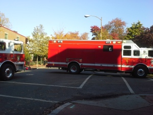 DC Hazmat Unit Blocks C Street, SE near 9th Street
