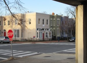 1247 E Street, SE, viewed from Peter Bug Shoe Repair Academy