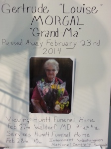 Louise Morgal Is Remembered at Angie's Flower Stand, South Hall, Eastern Market