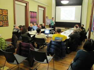 Eastern Market Metro Plaza and Park Task Force Met in Hill Center Wednesday Night