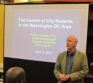 Bobby Corrigan, Rodentologist, Featured Speaker at Today's Rat Summit