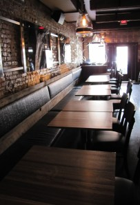 Part of the Dining Room Looking toward the Front of Barrel