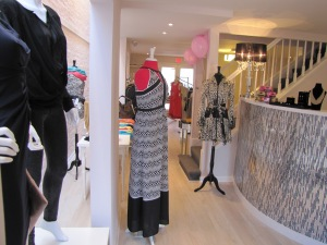 Inside Pinktini Fashion Boutique