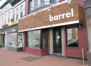 Barrel is at 613 Pennsylvania Avenue, SE