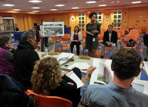 Cohen Companies Rep Leila Batties Briefs ANC6B on Phase 1 of the Proposed M Street Project