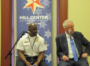 First District Commander Jeff Brown and Councilmember Wells Address Community Concerns on Crime