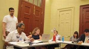 Steve  Salas at ANC6B Meeting, Tuesday Night