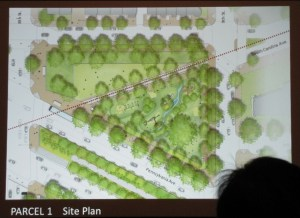 Plan for the Park North on PA Avenue, with Children's Playground