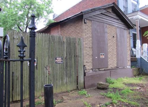 The Shotgun House at 1229 E Street, SE