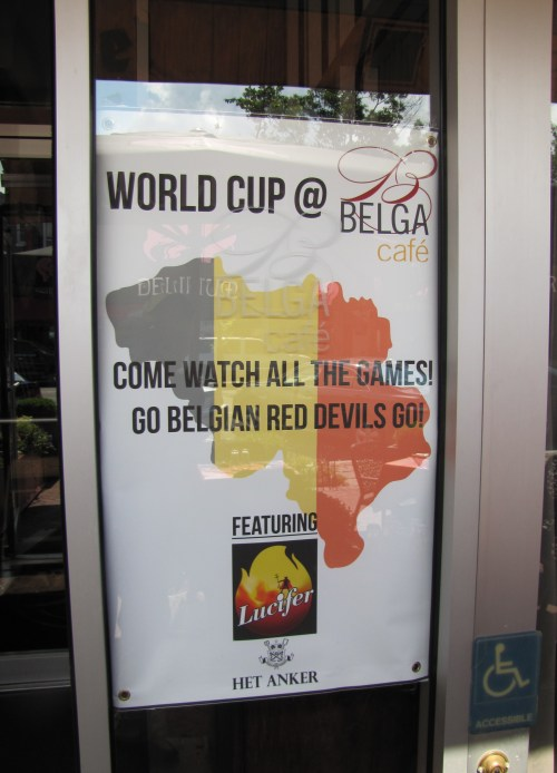 Belga Cafe on Barracks Row Takes the World Cup  Seriously
