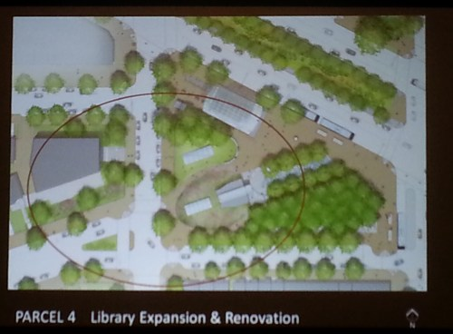 Overview of Redesigned Metro Plaza
