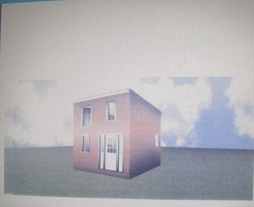 "Draft Proposal of Re-created ""Carriage House"""