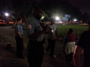 District 1 MPD Officers Shut Down Lincoln Park Fireworks Display