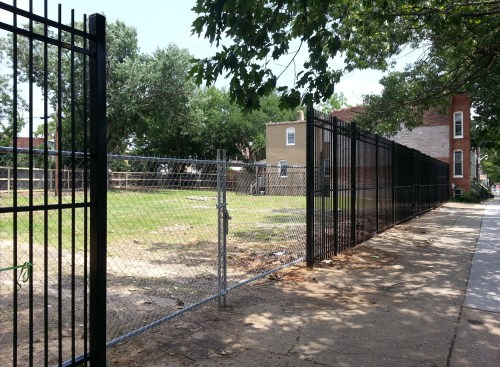 A New Iron Fence For the Lots Surrounding 1230 Pennsylvania Avenue, SE, Foreshadows A New Temporary Frager's Location