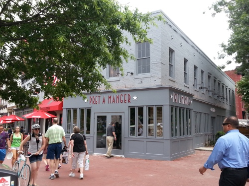 Pret A Manger at 3rd and PA Avenue, SE, Opens Friday, August 1