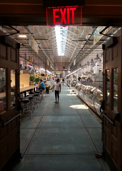 Early weekday morning, Eastern Market.