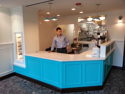 CEO Greg Menna Readies District Doughnuts for Friday's Soft Opening