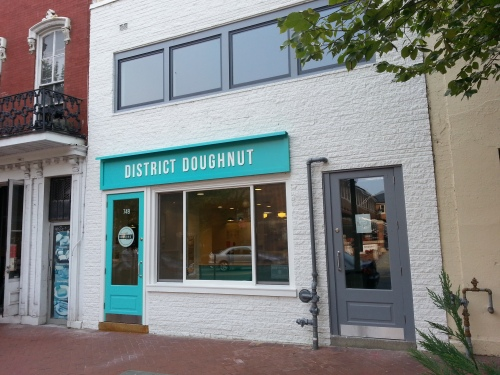 District Doughnuts at 749 8th Street, SE, Across from the Marine Barracks