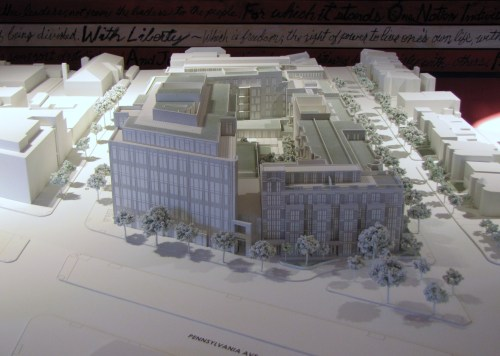 Developer's 3-D Model of Hine Project