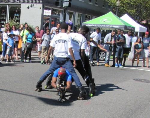 Skillz Skaters Demonstrate Prowess on Asphalt