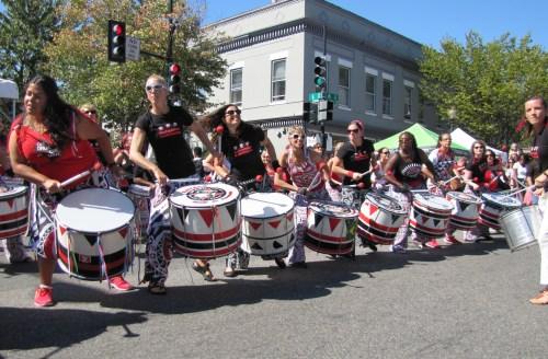 Batala Women Drummers