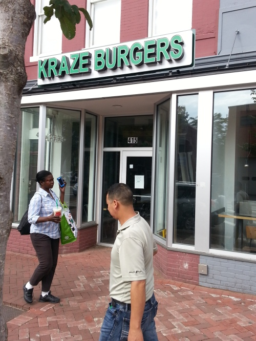Kraze Burgers Will Not Be Returning to Barracks Row - ANC Asks Landlord What Will Replace It?