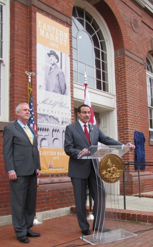 Mayor Gray Opens Ceremony Honoring John Harrod