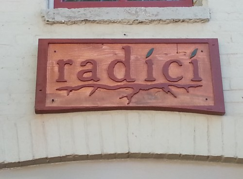 "Word is that Radici - Formerly The Silver Spork - Will Open in ""A Couple of Weeks"""