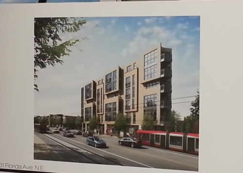 """Flatiron"" Condo Project Proposed for Intersection of H Street, Florida Avenue, and 14th Street NE"