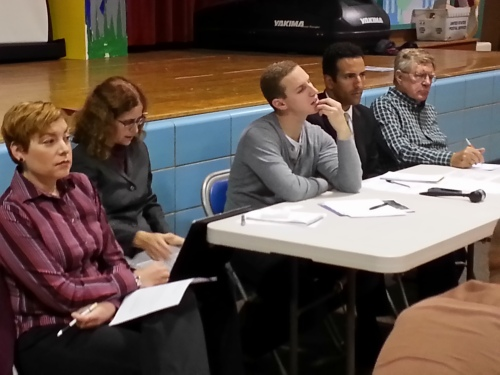 ANC6A Transportation Committee Members listen to neighbor's concerns about rats, trash, parking, standing water and parking