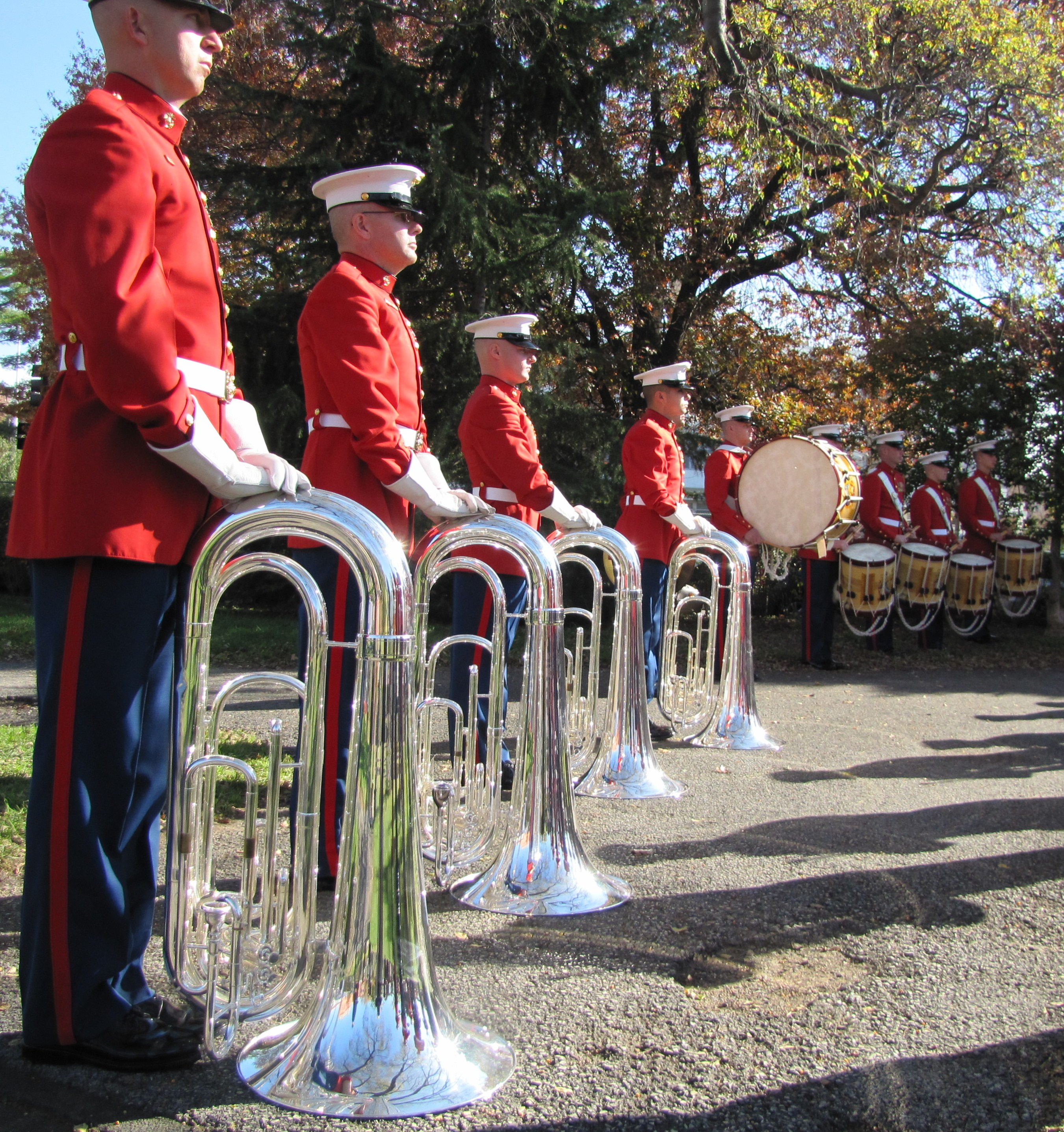 post honors veterans in folger park photo essay capitol hill parade rest
